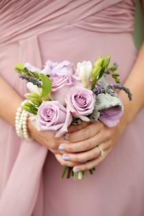 wedding photo - Romantic La Caille Garden Wedding