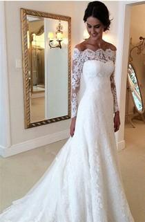 wedding photo - Long Sleeve Wedding Dresses - Darius Couture