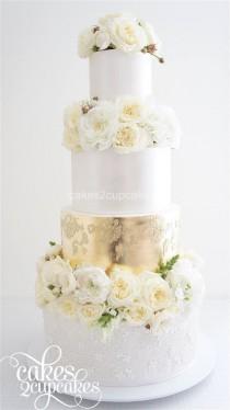 wedding photo - Wedding Cake Inspiration - Cakes 2 Cupcakes