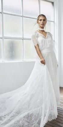 wedding photo - Grace Loves Lace – Unique Bohemian Lace Wedding Dresses