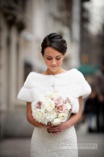 wedding photo - Sophisticated New York Wedding With Warm Amber Lighting