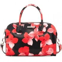 wedding photo - Charles Jourdan Pippa Floral-Print Leather Satchel Bag