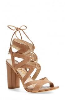 wedding photo - 'Yardley' Lace-Up Sandal