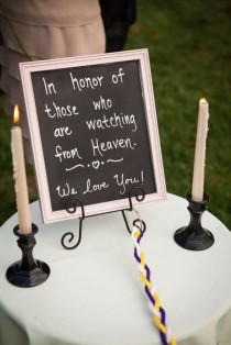 wedding photo - Unique Wedding Memorial Ideas: In Loving Memory