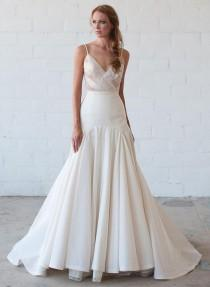 wedding photo - Tara LaTour Shows Uniquely Gorgeous Wedding Dresses For Fall 2016