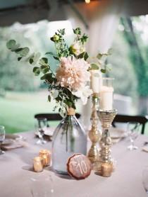 wedding photo - Garden Wedding Centerpiece Inspiration