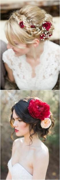 wedding photo - 40 Fall Red Wedding Ideas We Actually Like
