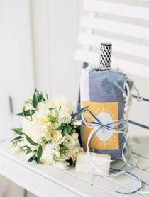 wedding photo - Stripes, Sea, And Nautical Wedding Perfection