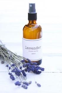 wedding photo - DIY Lavender Linen Spray