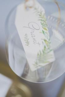 wedding photo - Summer Green Wedding Inspiration
