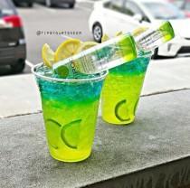 wedding photo - Electric Apple Lemonade Cocktail