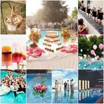 "wedding photo - Mon mariage ambiance ""pool party"", ça déménage ! - Mariage.com"