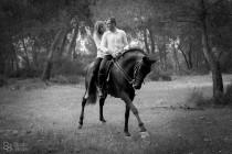 wedding photo - A+C: Reportaje Pre boda a Caballo