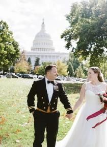wedding photo - Classic Americana Wedding at the DAR Headquarters