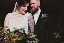 wedding photo - Woodland Luxe Wedding in October