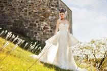 wedding photo - How To Pull Off Regal Bridal Style With A Chic Edge