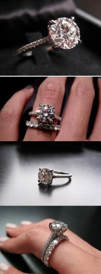 wedding photo - Sparkling Float Ring