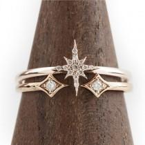 wedding photo - Starburst Diamond Set Ring