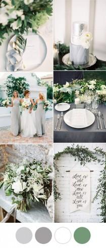 wedding photo - Simple but Elegant Wedding Color Schemes