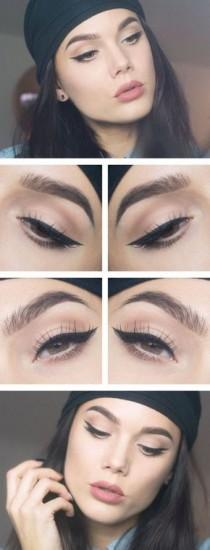 wedding photo - Winged Liner