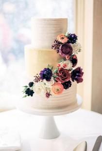 wedding photo - 36 Rustic Wedding Cakes