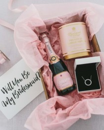 wedding photo - Will You Be My Bridesmaid? 6 Gifts For Your Bridesmaid Proposals