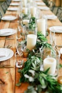 wedding photo - Fresh Wedding Trend: Greenery Only