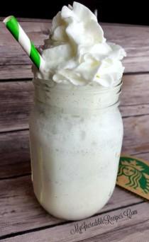 wedding photo - Starbucks Vanilla Bean Frappuccino- Copycat!