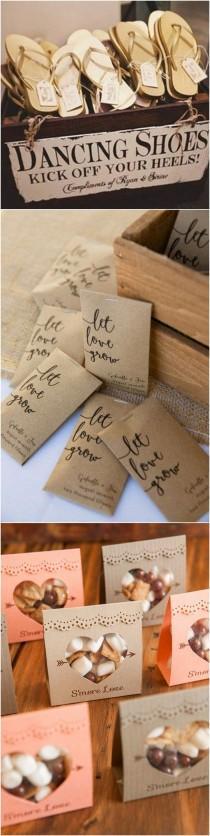 wedding photo - Top 10 Unique Wedding Favor Ideas Your Guests Love