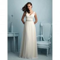 wedding photo - Allure Bridals 9205 Soft Tulle and Lace A-Line Wedding Dress - Crazy Sale Bridal Dresses