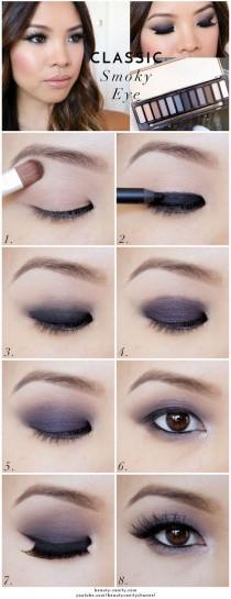 wedding photo - Dark Eye Makeup
