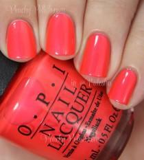 wedding photo - OPI: Summer 2014 Neon Collection Swatches & Review