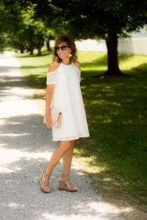wedding photo - White Dress For A Summer Brunch
