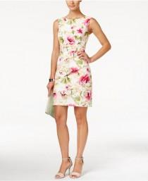wedding photo - Macy's - Connected Tiered Floral-Print Sheath Dress