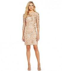 wedding photo - JS Collections Beaded Lace Dress