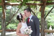 wedding photo - Hillary And Ben's Cop Cot Wedding