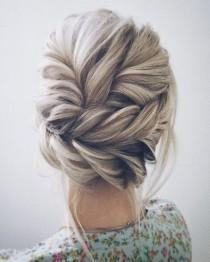 wedding photo - This Beautiful Wedding Hair Updo Hairstyle Will Inspire You