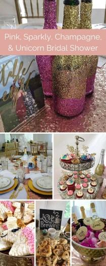 wedding photo - This Bridal Shower Is Made Of Sparkly Champagne Dreams