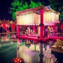 wedding photo - Fuchsia Hues….