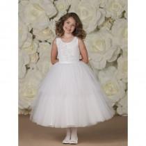 wedding photo - Joan Calabrese Flower Girl Dresses - Style 113365 - Formal Day Dresses