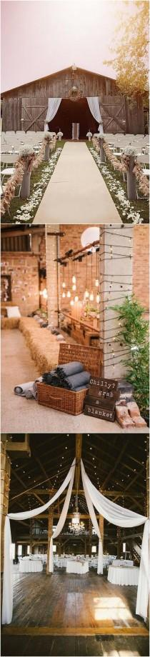 wedding photo - 18 Perfect Country Rustic Barn Wedding Decoration Ideas - Page 2 Of 3