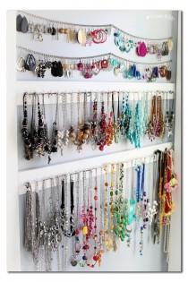 wedding photo - Simple Jewelry Organization