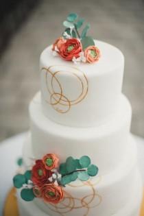 wedding photo - Fall Wedding Cakes
