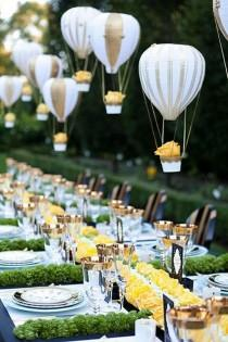 wedding photo - 16 Romantic Wedding Decoration Ideas With Balloons