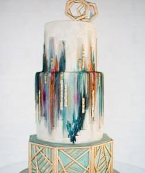wedding photo - These Wedding Cakes Are ALMOST Too Pretty To Eat