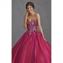 wedding photo - Strapless Sweetheart Gown by Allure Quinceanera Q402 - Bonny Evening Dresses Online