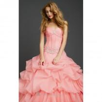 wedding photo - Ruffled Ball Gown by Allure Quinceanera Q365 - Bonny Evening Dresses Online