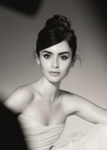 wedding photo - Lily Collins Lands Deal With Lancome