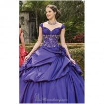 wedding photo - Embroidered Gown by Vizcaya by Mori Lee - Color Your Classy Wardrobe