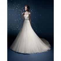 wedding photo - Kitty Chen Couture Elizabeth Lace Wedding Dress - Crazy Sale Bridal Dresses